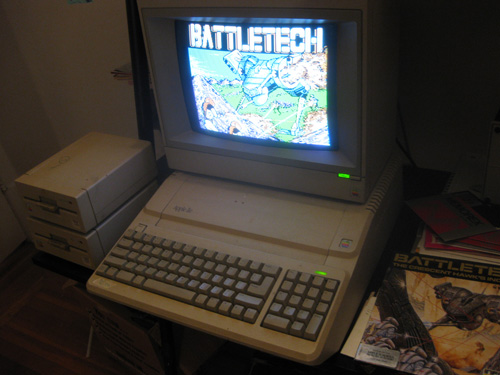 Apple IIe Setup
