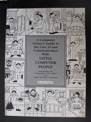 Little Computer People manual